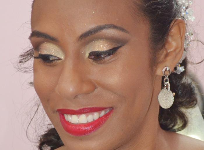 Muito Maquiagem de noiva para negras | Lila Pink JY33