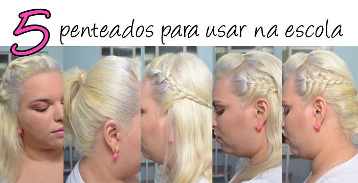 penteado escola