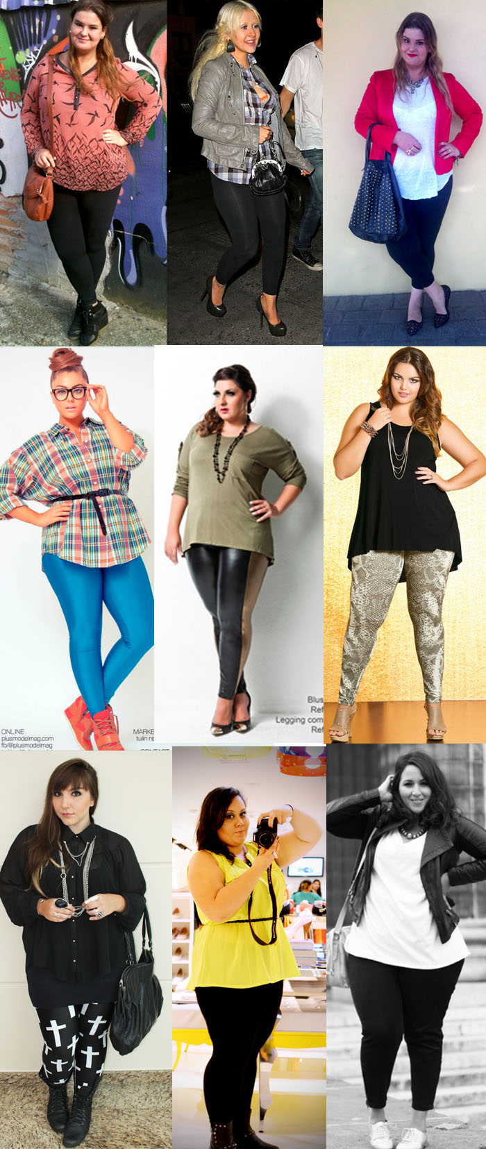 looks plus size legging