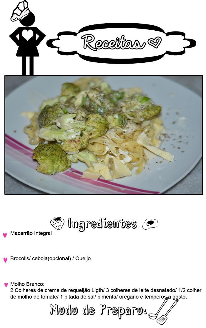 macarrao com brocolis